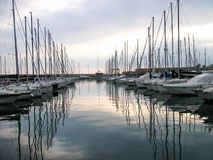 旅游港口 免版税图库摄影