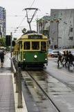 旅游电车35在墨尔本在澳大利亚 库存照片