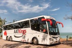 旅游的AATKings,但是在东部点岩石海岸线,达尔文澳大利亚 免版税库存图片