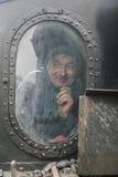 旅游蒸汽引擎火车 图库摄影