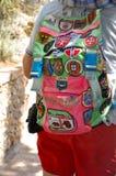 旅游袋子在索伦托,意大利 库存图片