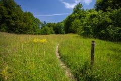 旅游足迹在克罗地亚 免版税库存照片