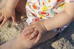 旅行与孩子 免版税图库摄影