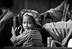 高棉女孩 免版税图库摄影