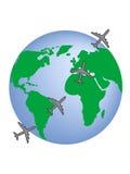 旅行世界 库存图片