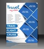 旅行中心飞行物设计 免版税库存图片
