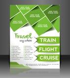 旅行中心飞行物设计 免版税图库摄影
