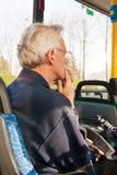 旅行乘公共汽车 免版税库存照片