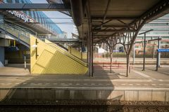 旅行乘火车在欧洲 库存图片
