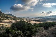 旅行乘露营车通过撒丁岛 免版税库存照片