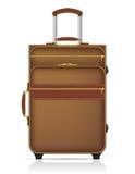旅行传染媒介例证的手提箱 免版税库存照片