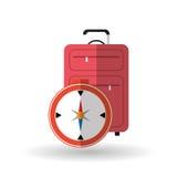旅行传染媒介例证,传染媒介象 库存照片
