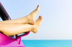 旅行假期自由海滩概念 免版税库存图片