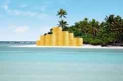 旅行假期费用和储款概念 免版税图库摄影