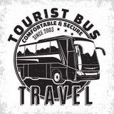 旅行公共汽车葡萄酒象征 库存照片