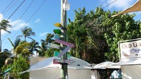旅行到基韦斯特岛,佛罗里达 库存照片
