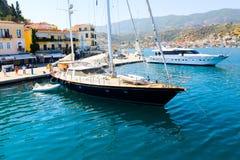 旅行到希腊海岛 免版税库存照片