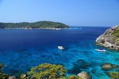 旅行到Similand海岛 库存图片