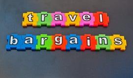 旅行合同 免版税图库摄影