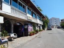 旅行向亚得里亚海的黑山 免版税库存照片