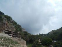 旅行向亚得里亚海的黑山 免版税图库摄影