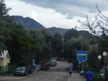 旅行向亚得里亚海的黑山 图库摄影