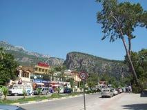 旅行向土耳其, Beldibi安塔利亚 库存图片