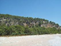 旅行向土耳其, Beldibi安塔利亚 免版税库存图片