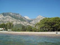 旅行向土耳其, Beldibi安塔利亚 免版税库存照片