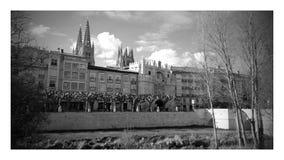 旅行向布尔戈斯,在西班牙 免版税图库摄影