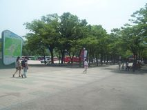 旅行向汉城 库存照片