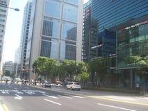 旅行向汉城 免版税库存图片