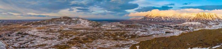 旅行向美妙的冰岛 库存照片