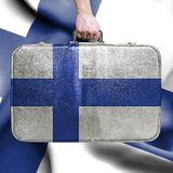 旅行向芬兰 免版税图库摄影
