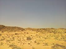 旅行向西撒哈拉 库存图片