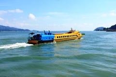 旅行向邦喀岛,马来西亚 库存图片