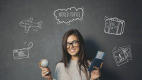 旅行启发 免版税库存照片