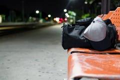 旅行和在晚上 库存照片