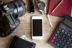 旅行和摄影概念 库存照片