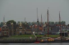 旅行和生活方式Lemmer在荷兰 免版税库存照片