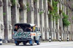 旅行在婆罗洲附近 免版税库存图片