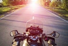 旅行在摩托车 免版税图库摄影