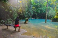 旅行在琅勃拉邦,老挝 免版税图库摄影