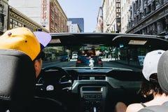 旅行在美国附近的人们 免版税图库摄影