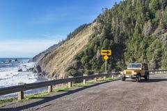 旅行在高速公路1 库存图片