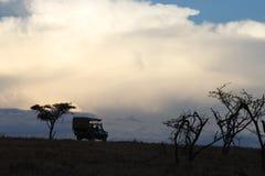 旅行在massi玛拉 图库摄影