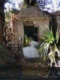 旅行坟园新的奥尔良老坟园坟茔 免版税库存图片