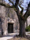 旅行坟园新的奥尔良Masoleum入口 库存照片