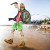 旅行家 图库摄影
