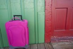 旅行手提箱 免版税库存图片